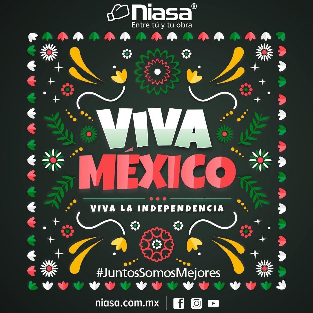 ¡En México estamos de fiesta! Hoy nuestro país, cumple 210 años del grito de Dolores, que marcó el inicio del movimiento independentista. #VivaMéxico #JuntosSomosMejores #16deSeptiembre https://t.co/uPa4vZ9CE4