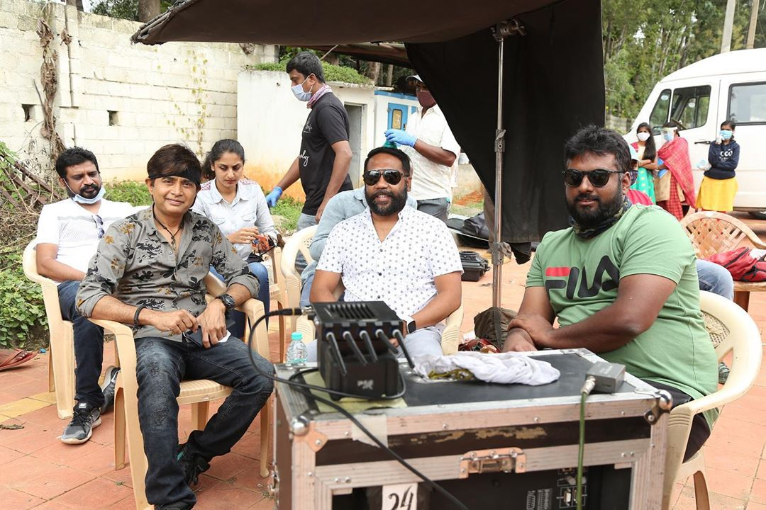 Final schedule of Avatar Purusha @sharanhruday @SimpleSuni @PushkarFilms @Pushkara_M @AshikaRanganath starts. Film likely to release in December.  #kannadacinema #kannadafilms #sandalwood #kannadacinima #avatarpurusha https://t.co/5M7P7MNJqN