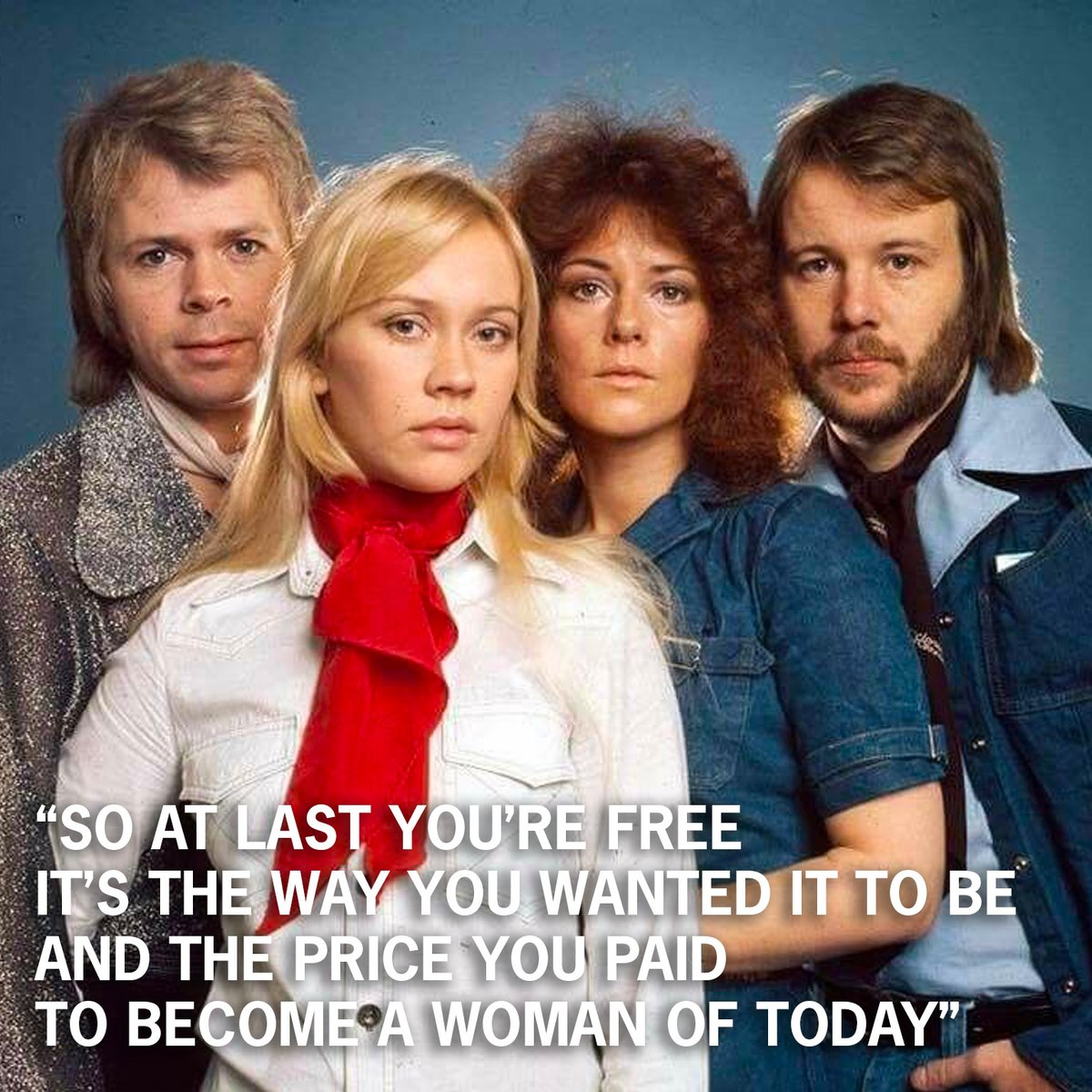 Today in 1974, ABBA start recording 'Hey, Hey Helen', later included on the 1975 album simply entitled ABBA. 🎶 #ABBA https://t.co/K4aUbJnVit