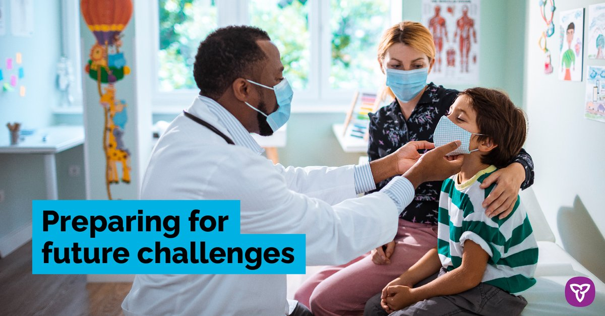 We are preparing for future challenges by investing in Ontario's health care system, supporting businesses producing #OntarioMade PPE, helping families get back on their feet and getting Ontario back to work safely. news.ontario.ca/en/release/583…