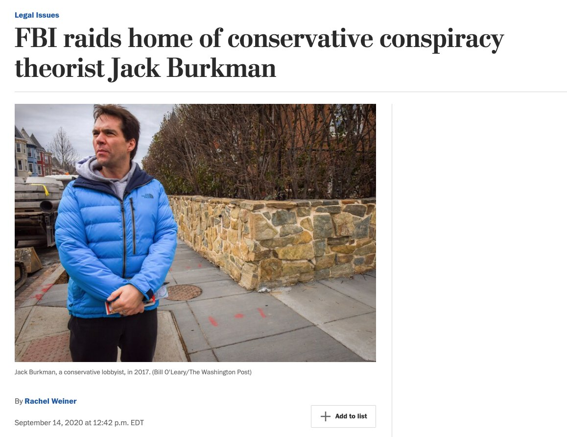 The Post adjusted its headline and lede for its Burkman story. One would expect them to update again (or retract?) now with the Daily Beast story just out confirming it was a hoax. (before/after)