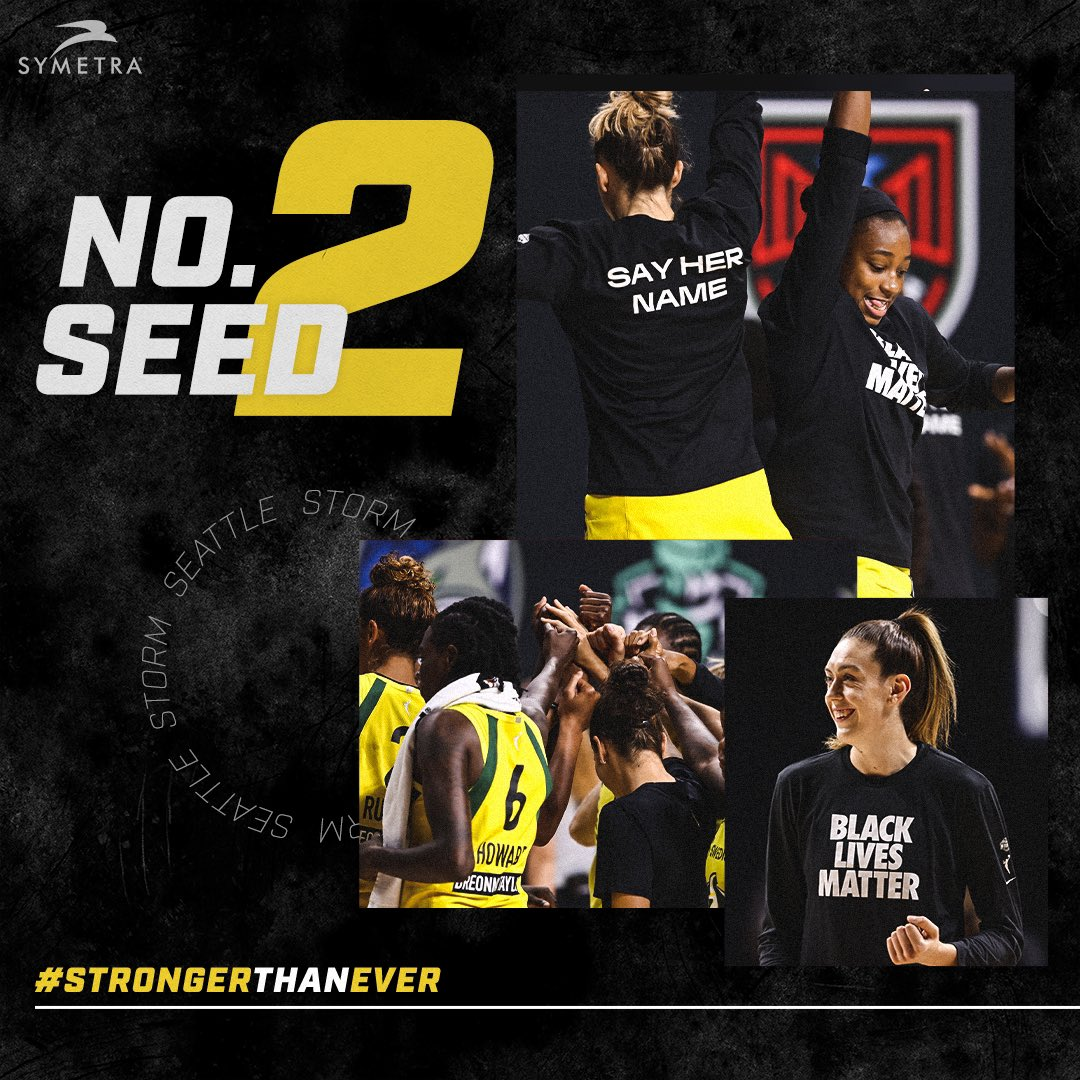 ⛈️💥 We open our playoff run presented by @Symetra on Sunday, Sept. 20 in the @WNBA Semifinals.💥⛈️  Read all about it ⬇️ https://t.co/cZjSpuaPbW  #StrongerThanEver https://t.co/wo7jKXSiJx