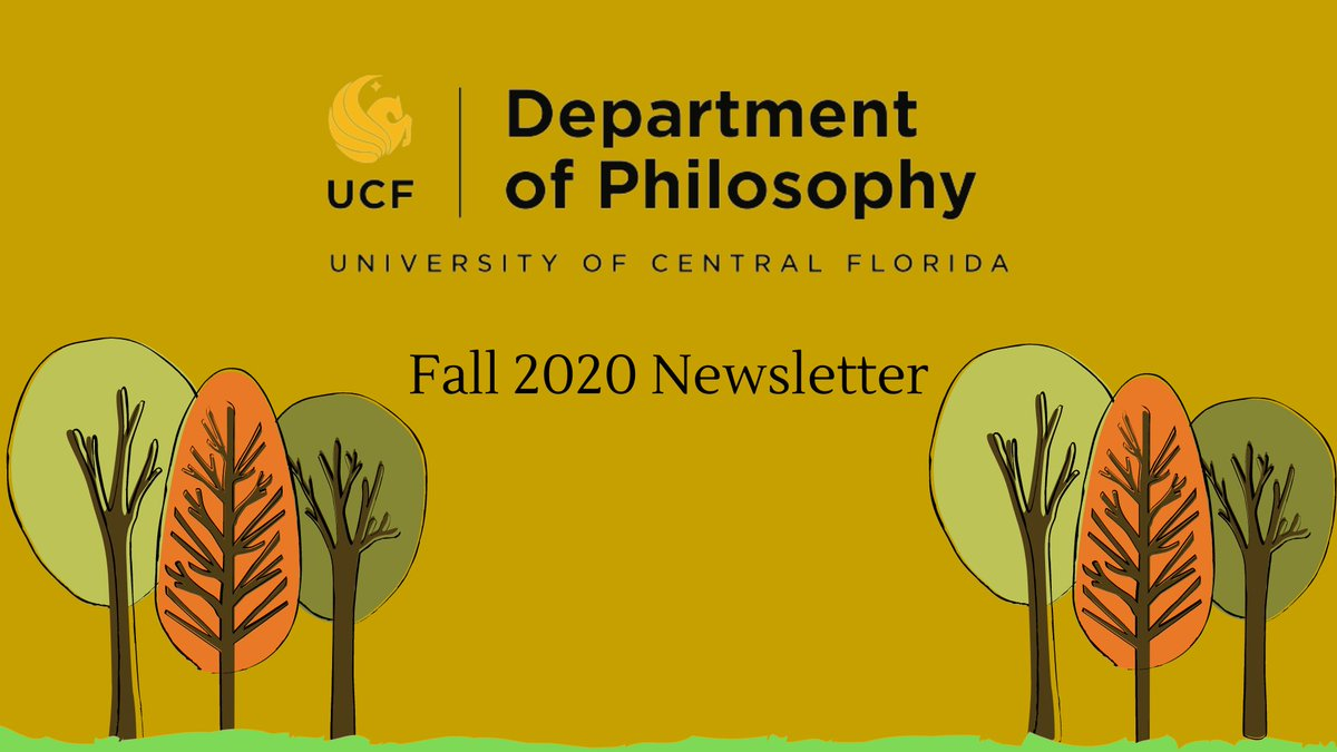 Our Fall 2020 Newsletter is out. Read about our new certificate program, our new faculty member Dr. Dwight Lewis, and much more! https://t.co/rVdmvWKO76 https://t.co/vBVwyoTXPJ