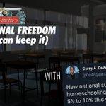 Image for the Tweet beginning: Corey DeAngelis: Educational Freedom (if