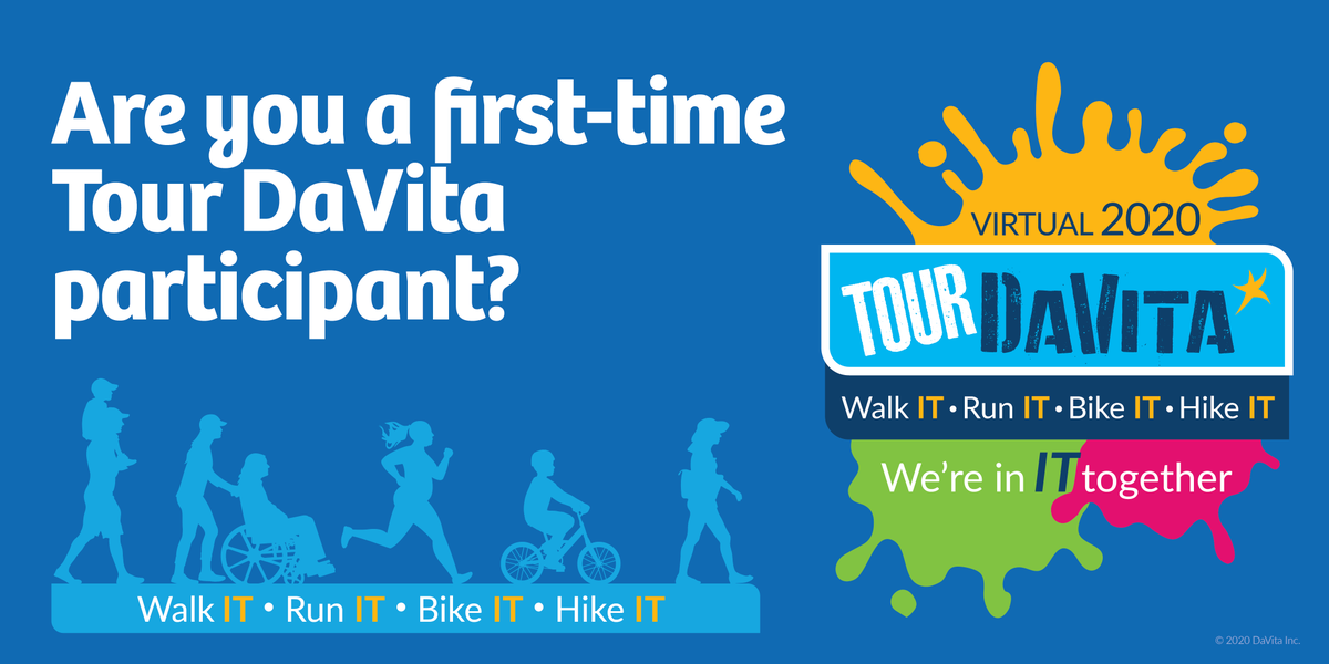 Have you joined #TourDaVita once or twice, but not sure if you were sufficiently prepared? Turn to our training experts who offer insight on pre-Tour training and tips for making our first ever virtual event a success. https://t.co/jjKAotTOmB https://t.co/2a63vrrtky