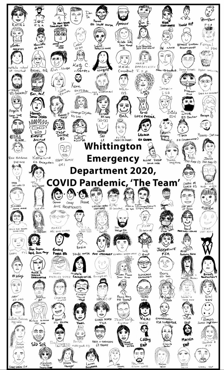 Just arrived today - our departmental tea towel. Really struck by how many people make up   our fantastic team (and we didn't even get everyone).And thanks @Katiemcnamara5 for her wonderful photo collage  #CaringForThoseThatCare @WhitHealth https://t.co/wTlYdKPKHt