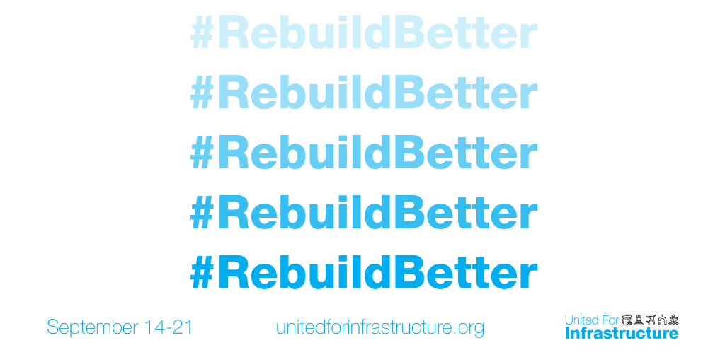 While our immediate task is to recover as a nation, we have an opportunity to do so in a way that makes our factories, transportation, power grid—even entire cities—more resilient. Join us this week as we partner with @United4Infra to explore what it means to #RebuildBetter. https://t.co/7tSHgRfRTB