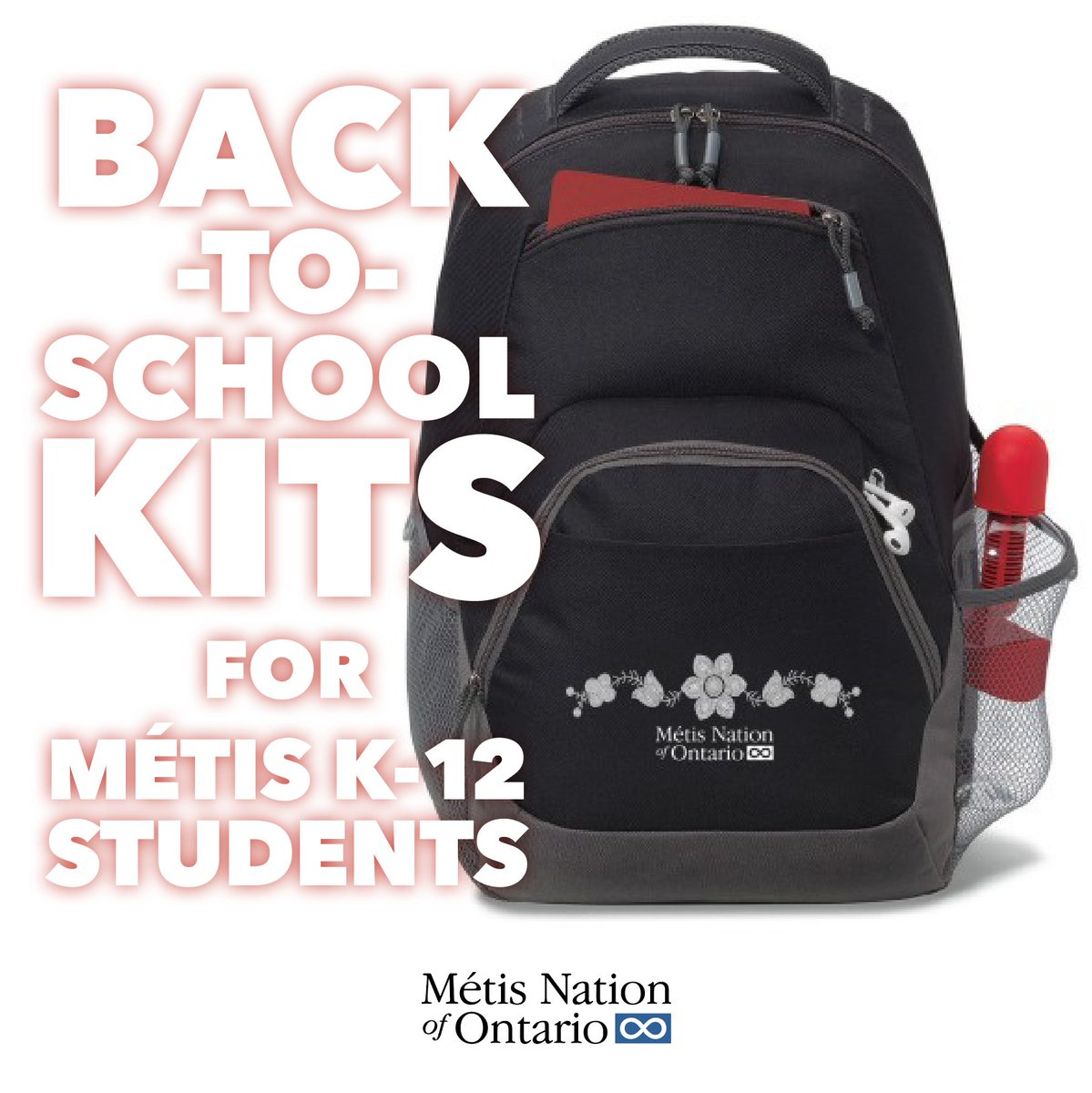 "Ontario #Métis Citizens can now request MNO ""Back-to-School Kits"" for their families. Use the new portal page to request a kit(s) for your household. #BackToSchool Kits will ship beginning of October. To view eligibility and apply for a Kit see https://t.co/mkjHLiYEAp https://t.co/wUJp5o9h1S"