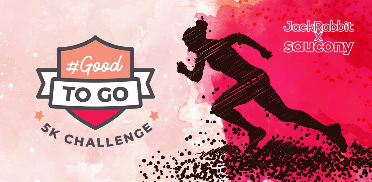 One more week to log your fastest 5k before the #GoodtoGo Challenge!! bit.ly/32HyGwY