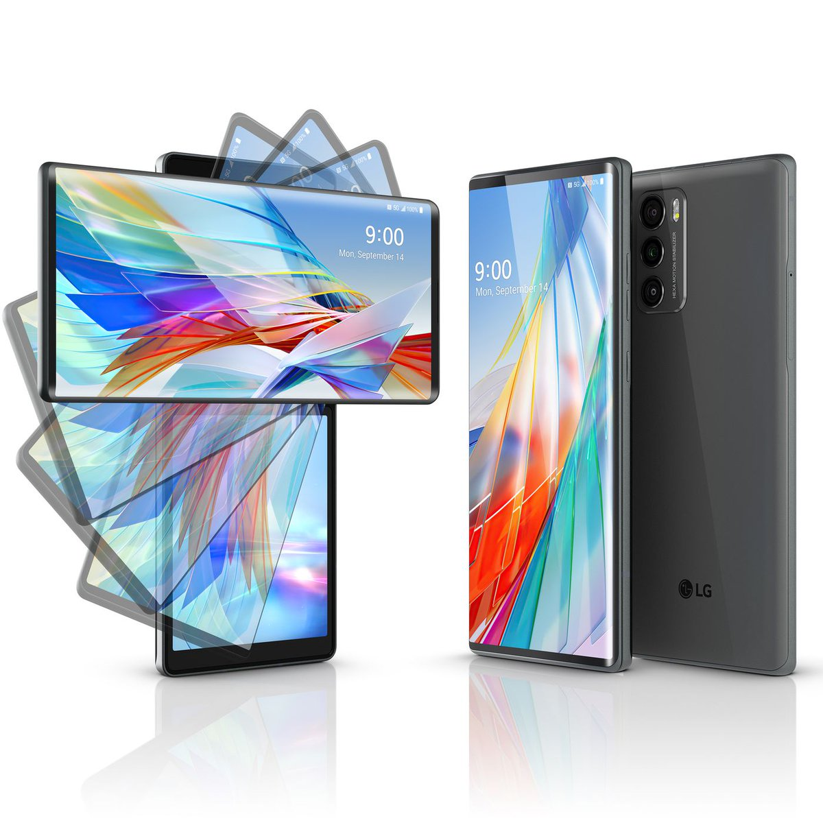 LG has launched the LG Wing – a brand new form factor for the dual-screen smartphone, with swiveling second display. https://t.co/fzOQcUO670 @BandwidthBlog https://t.co/OQXJCvkJzN