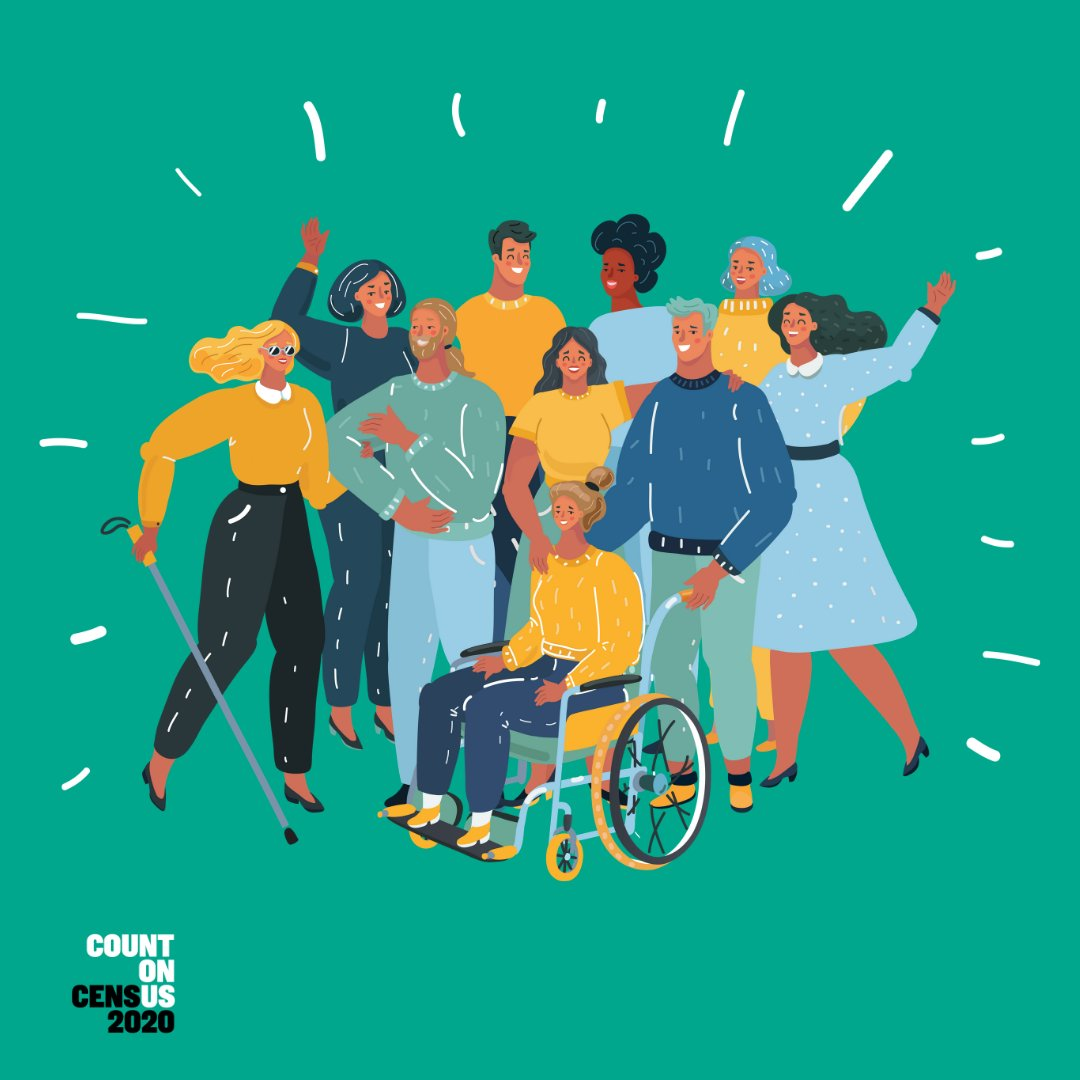 Taking the 9-question Census online, by phone, or mail is easy, safe, confidential, and really, really important.   Visit https://t.co/ZrNi6M2392or call 1-844-330-2020.   #NorCalCensus #2020Census #DisabilityCounts2020 #SeniorsCount2020 https://t.co/D7aF9wyyqF