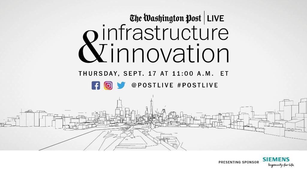 In an upcoming @postlive event, @SiemensUS_CEO and Miami Mayor @FrancisSuarez will explore how investing in #infrastructure can help cities become stronger and more resilient, even with budgets challenged by COVID-19. Register now: https://t.co/bXo9f7MWOa #rebuildbetter #postlive https://t.co/r18wo2Zhl9