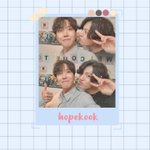 Image for the Tweet beginning: ↳ #HOSEOK and #JUNGKOOK wallpaper