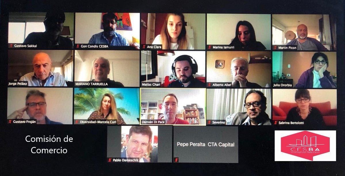 Hoy 14/09 a las 15 hs. se desarrolló via Zoom, la reunión de la Comisión de Comercio. Se debatieron distintas líneas de trabajo y se acordó la invitación a miembros del @CIPPEC, formaron parte de la reunión @FECOBAORG CGT @CPACF SUTECBA @InfoAMIA ADEBA CTA @CEPUC_CABA https://t.co/P6YLMF87Du