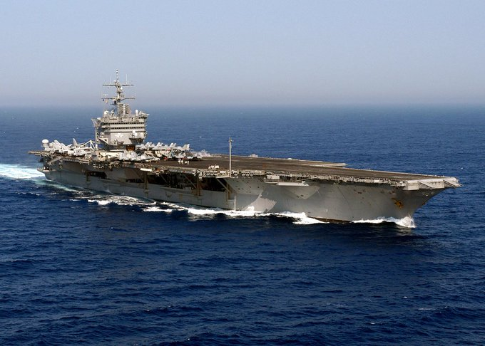 On this day in 1960, the worlds-first nuclear-powered aircraft carrier, the USS Enterprise, is launched.