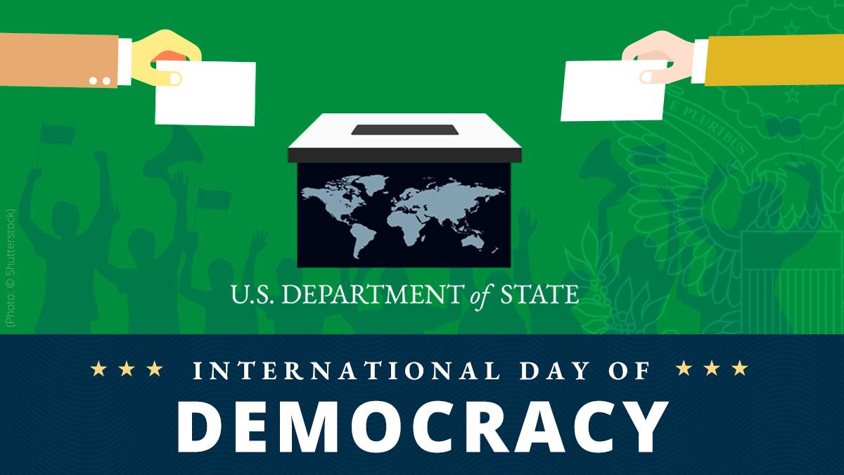 @StateDept's photo on #InternationalDayofDemocracy