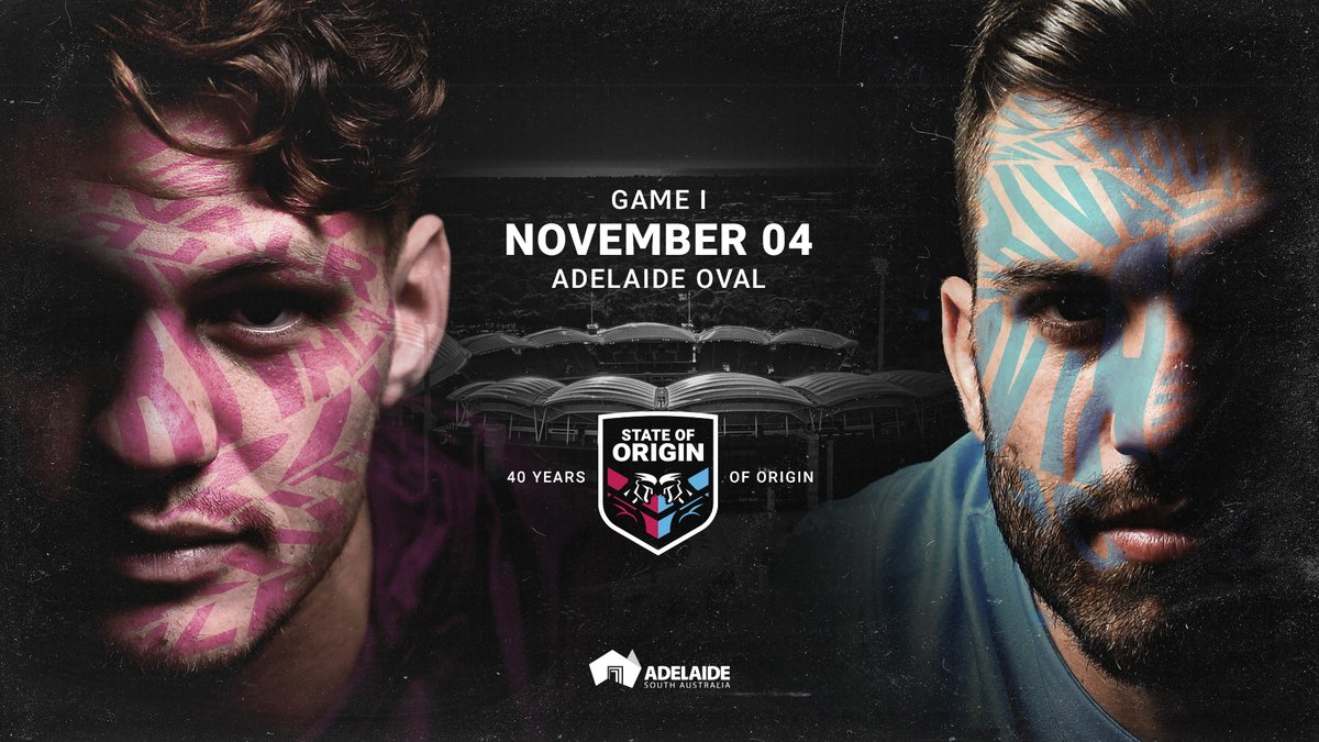 Yes!! Bring on the passion of State of Origin. Great work by everyone involved to make this happen. @EventsSA and our @tourismsa team have worked hard with @NRL to bring the biggest rivalry to town!  https://t.co/JpVUTqSaQ7 https://t.co/In0hOZKDtP