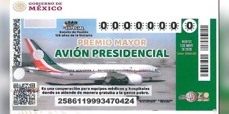 #RifaAvionPresidencial Foto
