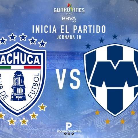 #LigaBBVAMx   Rueda el balón en el Huracán 🌪    #Pachuca 🐹 🆚  #Monterrey 🤠  #Jornada10 #Guard1anes2020  #TuCasaTuCancha https://t.co/RafdjRFpmU