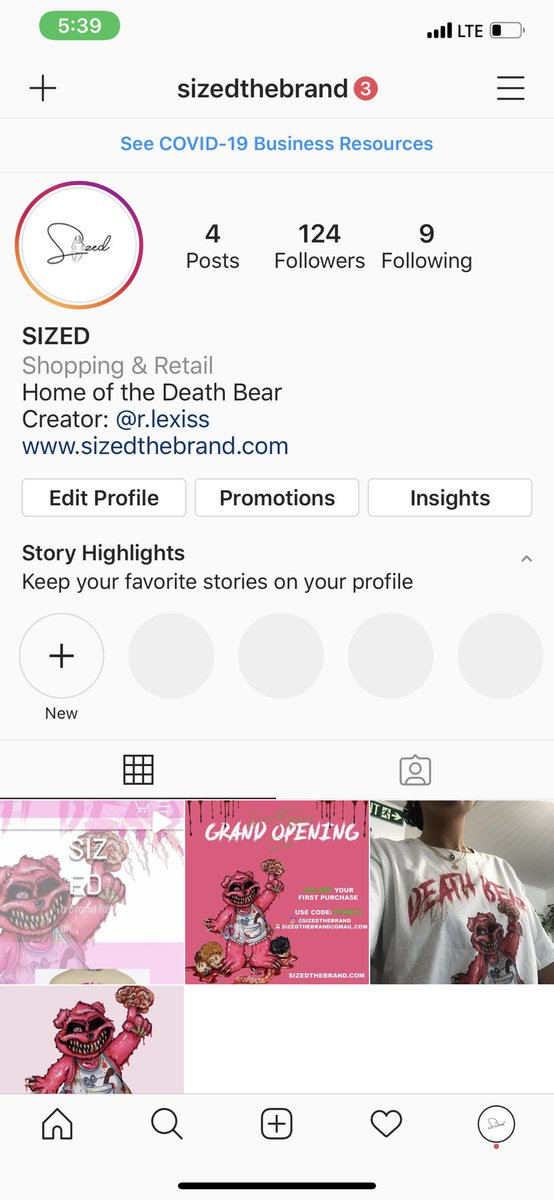 Follow my business page on Instagram please instagram.com/sizedthebrand?…