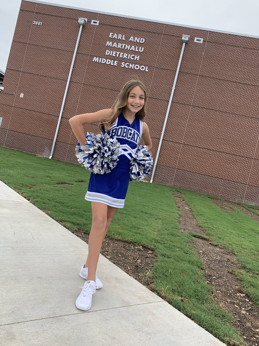 It's a great day to be a Dieterich Bobcat 💙🐾 @DieterichMS #MISDproud #welcomebackeveryone