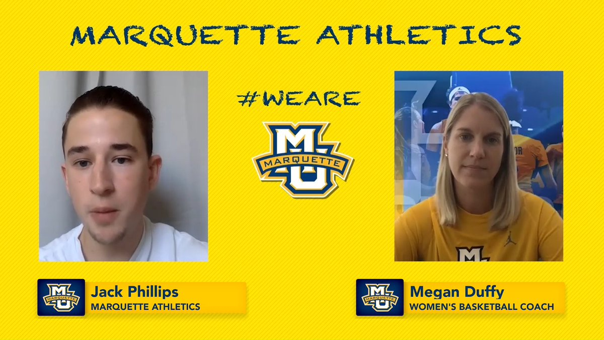 Head coach @CoachMeganDuffy spoke with Jack Phillips recently to talk about having the whole squad back in action and the continued fight for social justice. #muwbb
