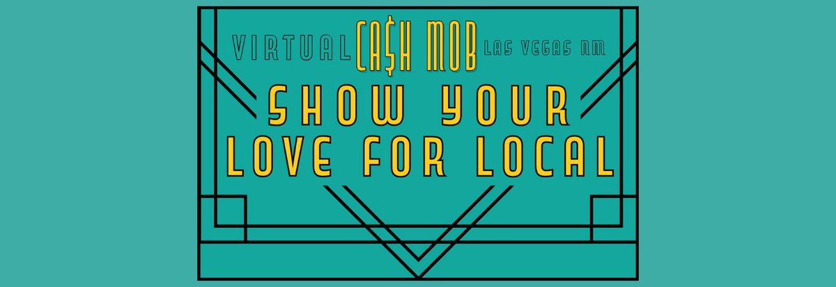Las Vegas, NM Cash Mob is highlighting one small business a week to support local businesses and move toward building back our economy. #nmecon  @NMMainStreet @NMoutdoorrec  https://t.co/XCIroazT5J https://t.co/Oo2doZ32et