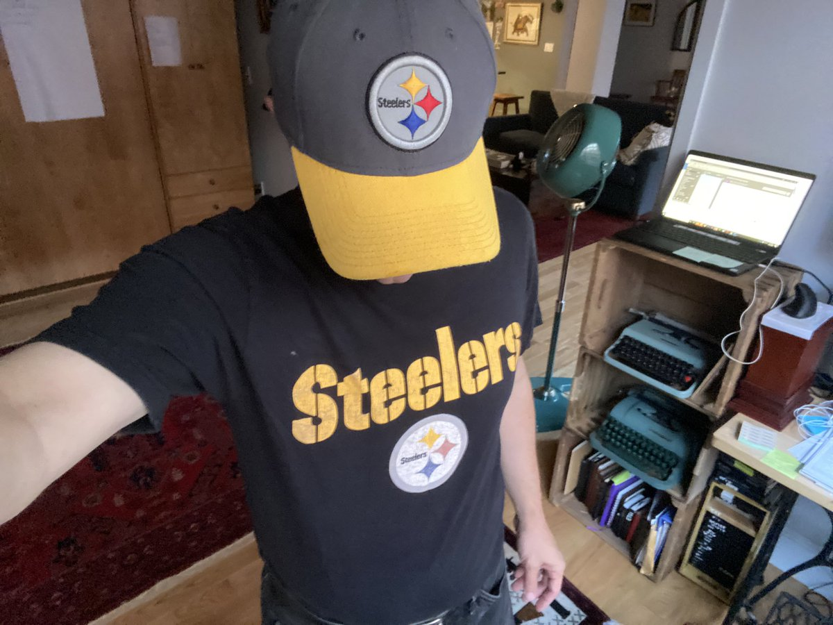 Why yes, thank you, I AM ready for some football!  #HereWeGo @steelers !!!! https://t.co/u9dsRNv2iW