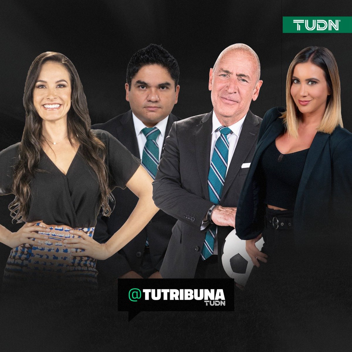 Hoy en @Tribuna_TUDN   🤩@Mariazelzel  😎@GeorginaHolguin ☺️@fersillo22  🙂 #Chiva  ⏰8pm🇲🇽 https://t.co/GcZPLuE66w