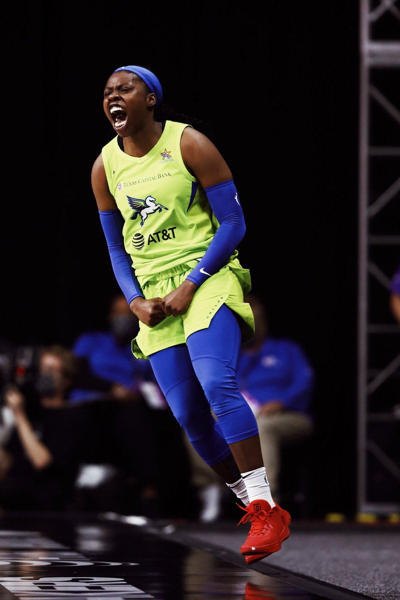 The 2020 WNBA scoring leader in just her sophomore season.  The future is bright. @Arike_O https://t.co/tFASfBXpnE