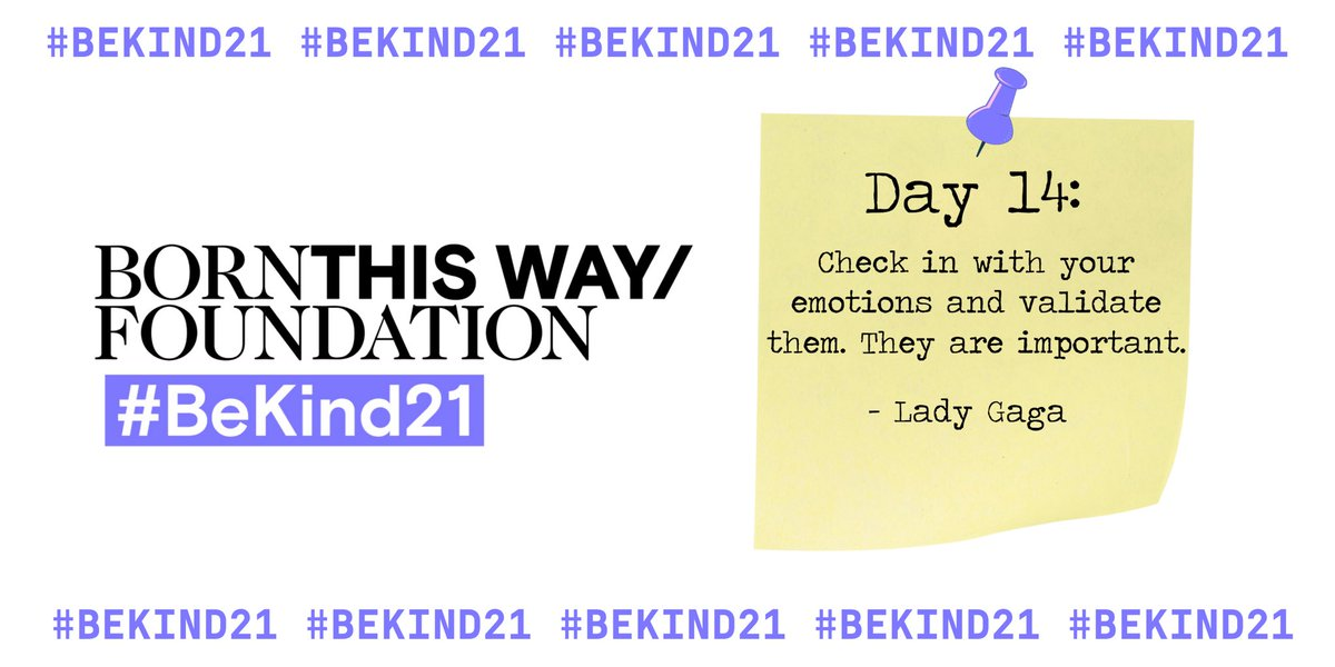 #BeKind21 @BTWFoundation ✅ https://t.co/qVPDV3XASm