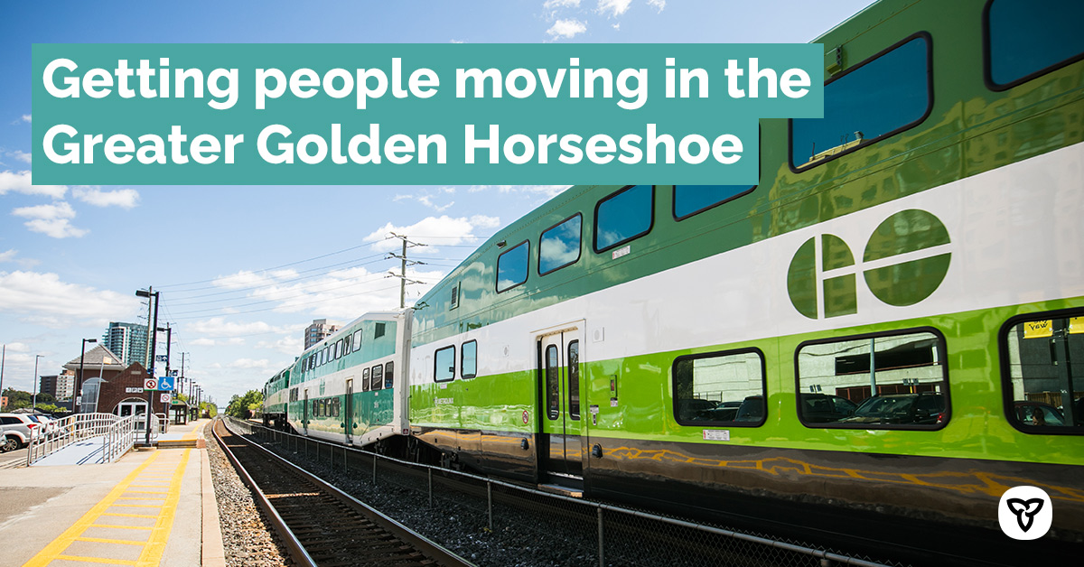 Ontario is committed to addressing the unique transportation needs of every region across the province including the Greater Golden Horseshoe. We want to hear from you to help us get people moving and connect this ever-growing region. news.ontario.ca/en/release/583…