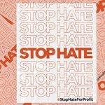 Image for the Tweet beginning: Facebook ignores hate & disinformation