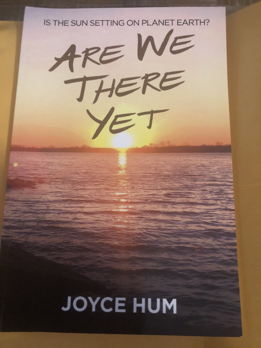 Got a copy of my sister's latest book Are We Here Yet by Joyce Hum she also has a podcast 🙏🏽♥️ https://t.co/CLvsFgAYCN