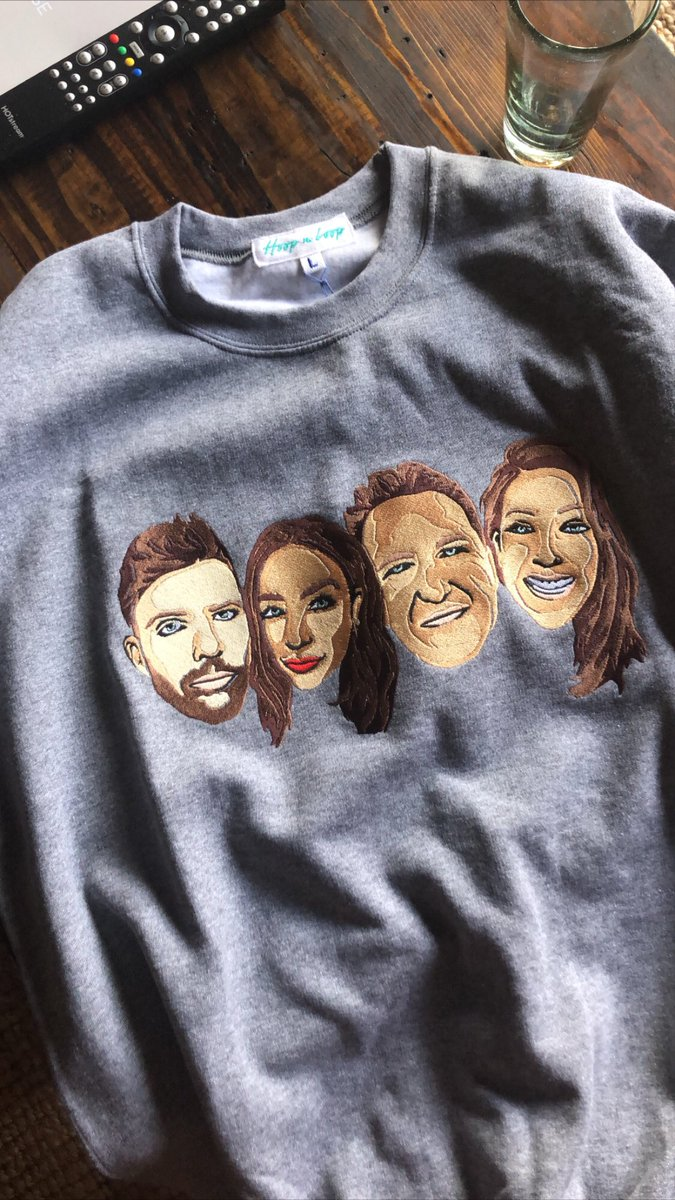 My friends love me so much they got me a sweatshirt with THEIR faces on it! https://t.co/dP0HvfMkmo