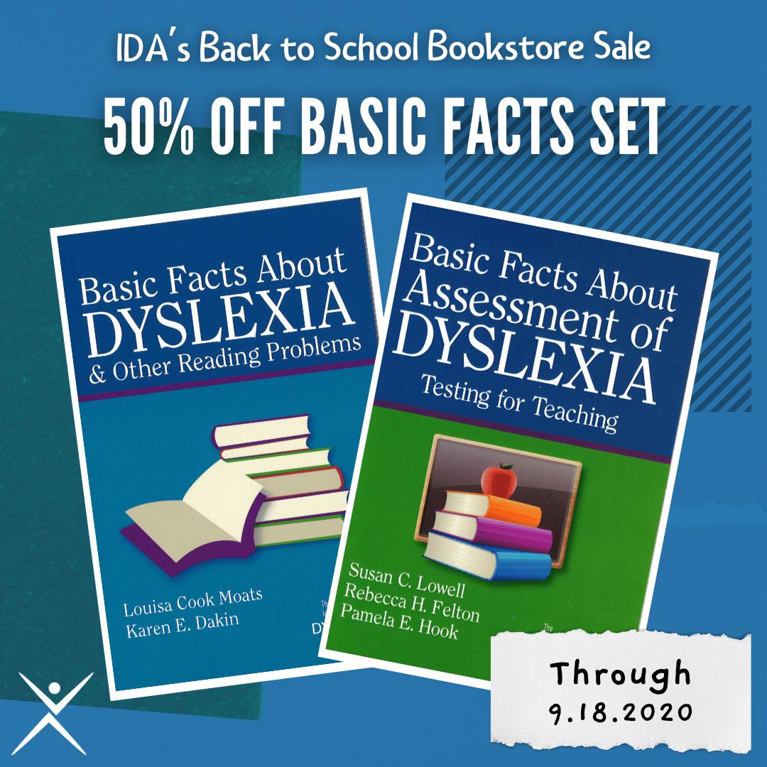Grab the Basic Facts Set for 50% off at the IDA Bookstore. No code necessary! Shop now at dyslexiaida.org/product/basic-…