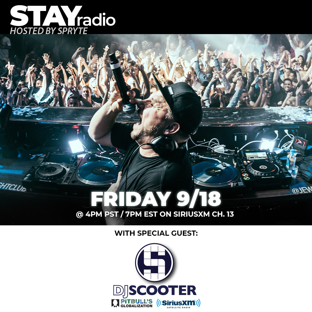 We have a true west coast legend in the building this Friday!! I'm honored to have on the one and only @Scooterdj Tune in to Globalization Channel 13 (SiriusXM) at 4pm PST / 7pm EST. https://t.co/wXmDTIRo7s