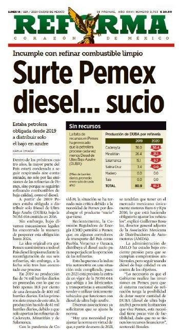 Es injusto que, por la terquedad del Gobierno Federal, las y los mexicanos tengamos que respirar aire contaminado. Urge un nuevo trato que priorice la salud de las personas y haga que México transite hacia las energías limpias. https://t.co/1qJemd01BZ