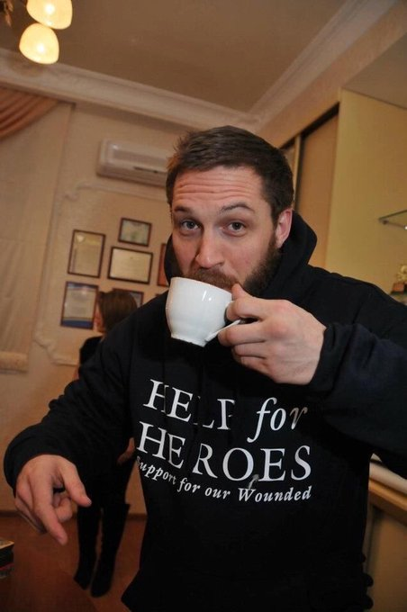 Happy birthday to the king himself tom hardy