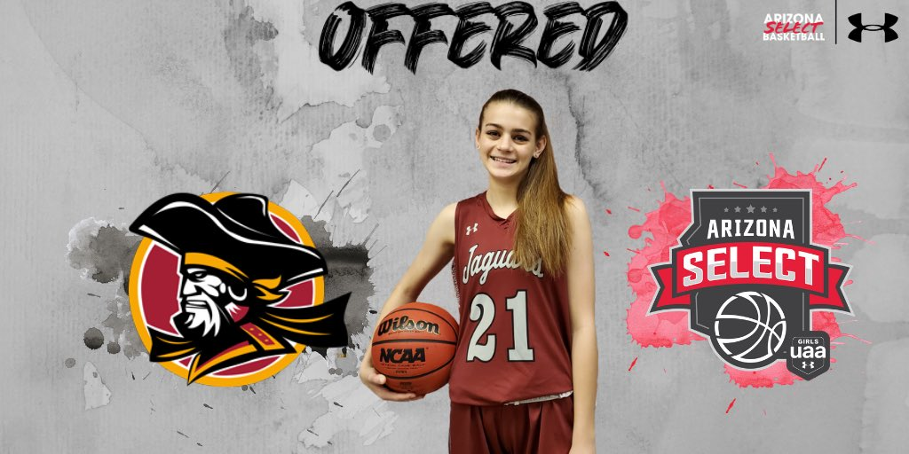 🔴Offer Alert⚫️  Congratulations to @SamWattawa on her offer from @ParkBuccaneers! Hard work pays off!   @AZSelectGirlsBB @AZSelectRecruit @GirlsUAA @UnderArmour https://t.co/PevXcuoFhz