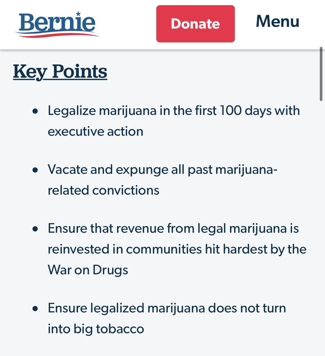 Legalize it.  But also make sure the people who were hurt most by the war on drugs benefit first.   Bernie had a pretty good plan. https://t.co/zlmxkXQSFc https://t.co/3SElSM2T98