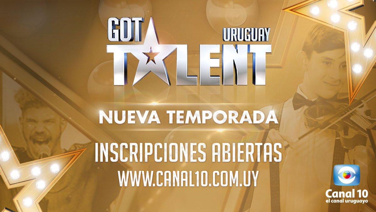 ¡ATENCIÓN!⚠️⚠️ ¡Están abiertas las INSCRIPCIONES para la PRÓXIMA TEMPORADA de GOT TALENT URUGUAY! ⭐🤩 ¡Es tu momento de brillar! Inscribite ahora en este link 👉🏼 https://t.co/sGe5Po4dl9  #GotTalentUY @riccettomaria @cfernandezok @opetinatti @agucasanova_ @AntelDeTodos https://t.co/DdjJEkfsXc