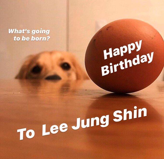 Happy Birthday  To Lee Jung Shin
