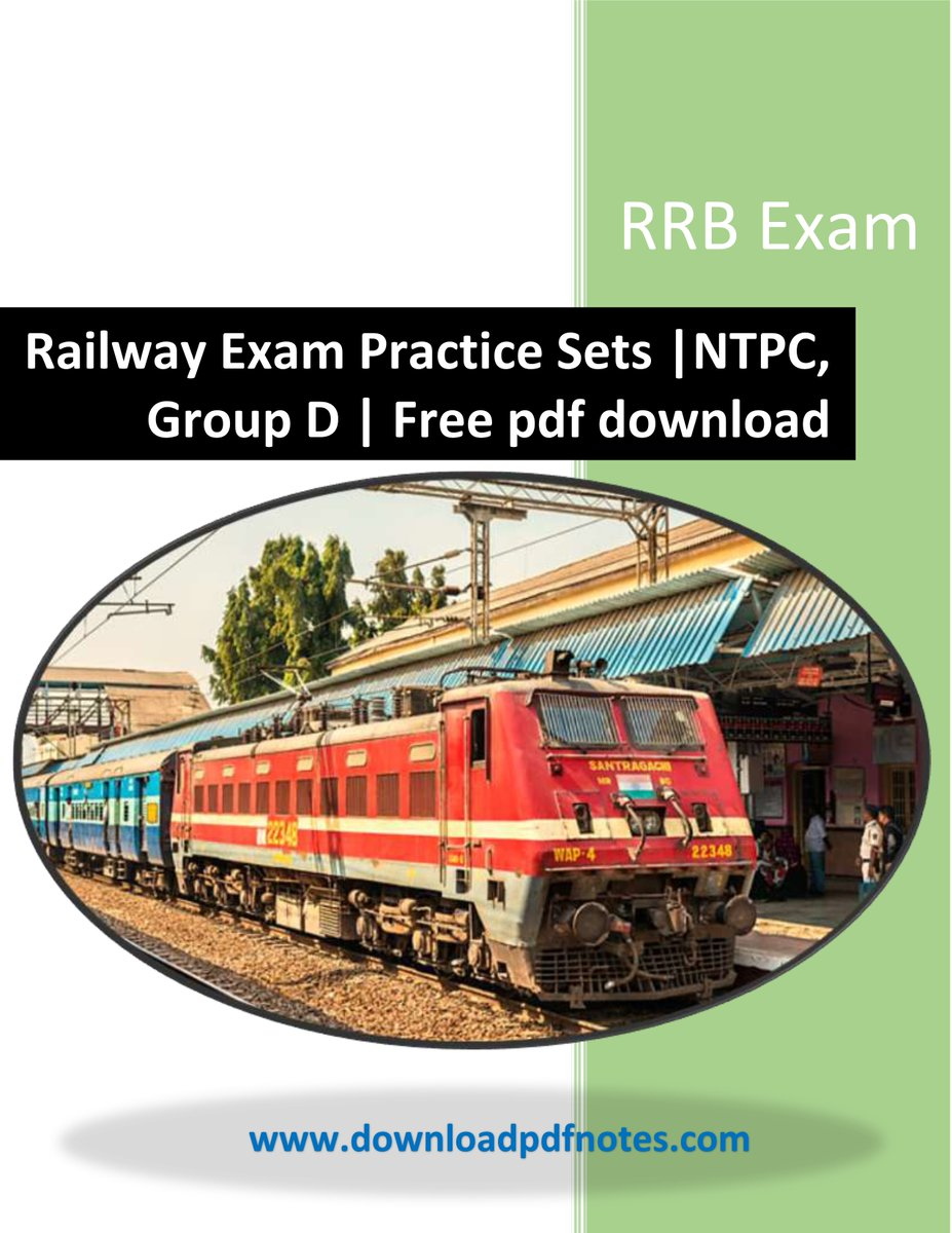 Railway exam books
