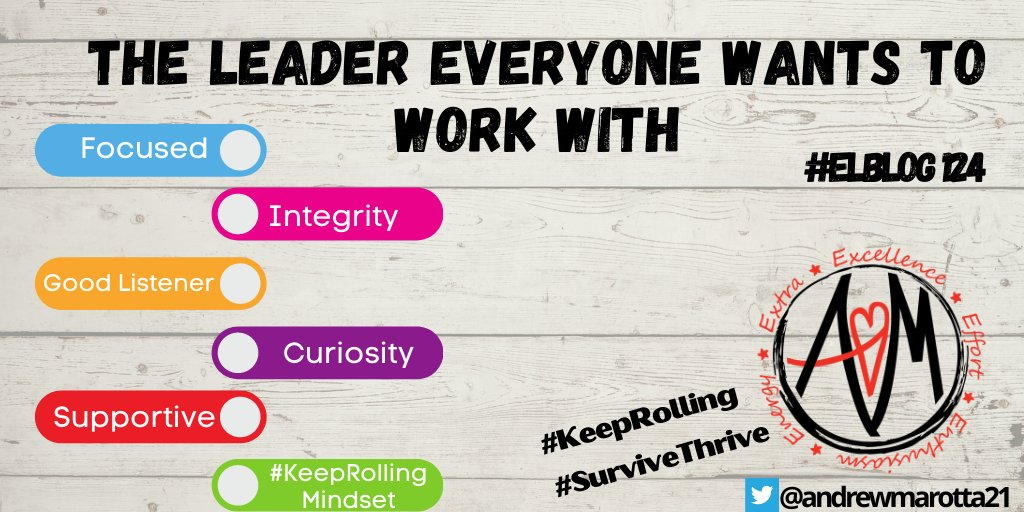 Latest #ELBlog Be the Leader that Everyone Wants to Work With  https://t.co/T9rSUKqu0a  #survivethrive @sarahdateechur @EduPodNet @EdumatchPN @froehlichm @evenerjeff @larrydake @LeadershipPub https://t.co/LiRnWWYfpk