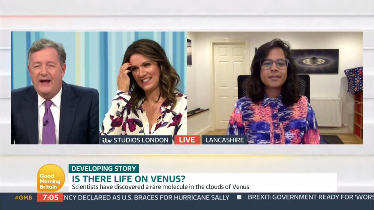 Is there life on Venus? @SaturnSheila says we can't be definitive there is life but scientists have found a chemical which can only be created on Earth by humans or found in microbial life. 👽👽👽👽