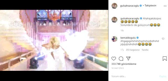 Gülşah Saraçoğlu, podyumda yürürken yere kapaklandı  Doya Doya Moda yarışmasında jürilik yapan Gülşah Saraçoğlu, çekimler esnasında podyumda yürürken yere kapaklandı. O anları Instagram hesabından yayınlayan Saraçoğlu, izleyenleri kahkahaya boğdu.  #Instagram #doyadoyamoda #moda https://t.co/jBALavZ4Hq