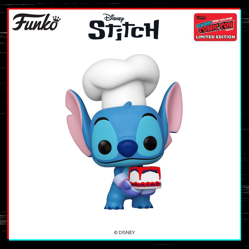 #OriginalFunko dévoile au salon de #FunkoNYCC une nouvelle #FunkoPop du personnage #stitch avec une part de gâteau dans ses mains 🍰  🎇 #Disney #LiloetStitch #Funko 🥳  Bientôt disponible sur @TeamPopFr  : https://t.co/r8S1tRaGva https://t.co/INuA1Re3f4