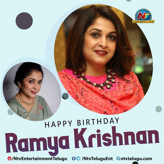 Wishing Ramya Krishnan a Very Happy Birthday!