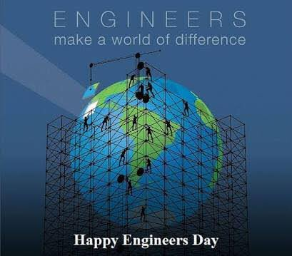 #engineers make the #world!!!  #EngineersDay2020 #Engineering https://t.co/T9Exq06BNX